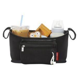 Skip Hop Grab & Go Black Stroller Organizer Bag
